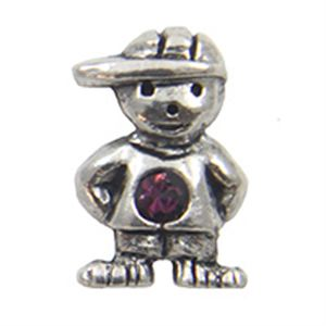 Picture of February Boy Birthstone Charm